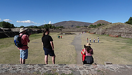 Familie W. in Monte Alban