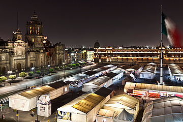 Zócalo in Mexico City